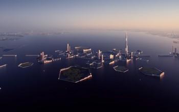 Projekt sztucznej wyspy w Zatoce Tokijskiej