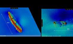 ORP Arctowski odkrywa nowe wraki