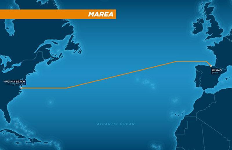 Microsoft i Facebook połączą Amerykę Północną i Europę podmorskim kablem