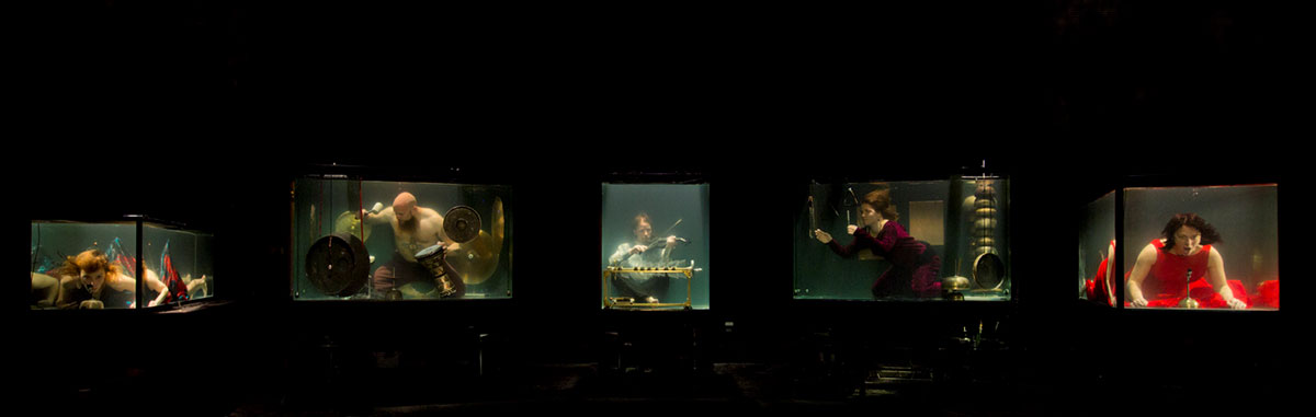 AquaSonic – pierwszy podwody zespół muzyczny