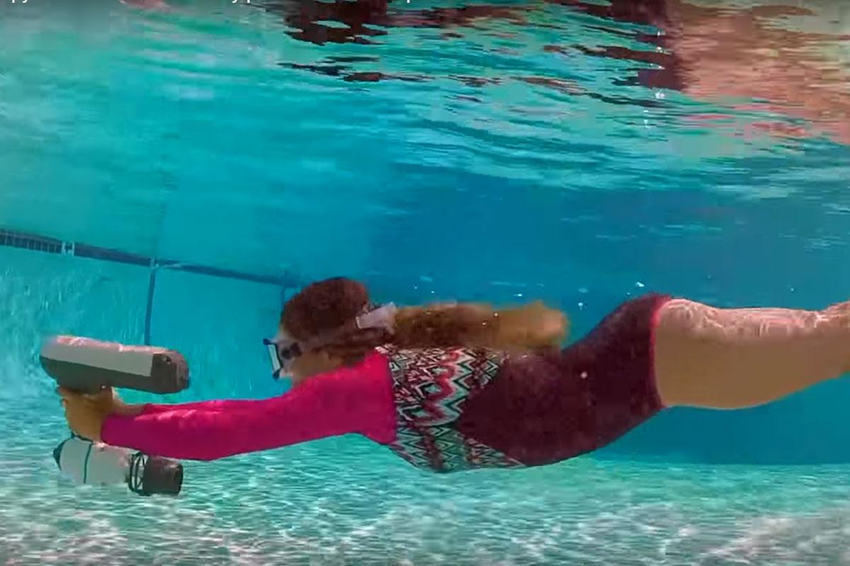 Bixpy Swim Jet– osobisty mini skuter do podwodnych podróży