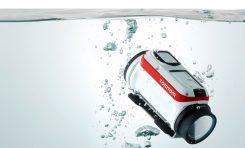 Kamerka sportowa z automatyczną korekcją zdjeć podwodnych