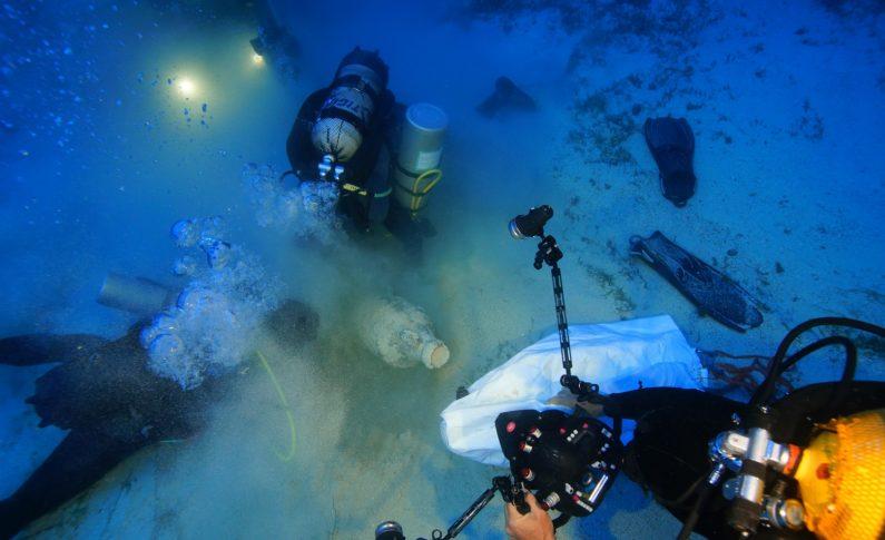 Odkryto pozostałości 8 wraków na Morzu Egejskim