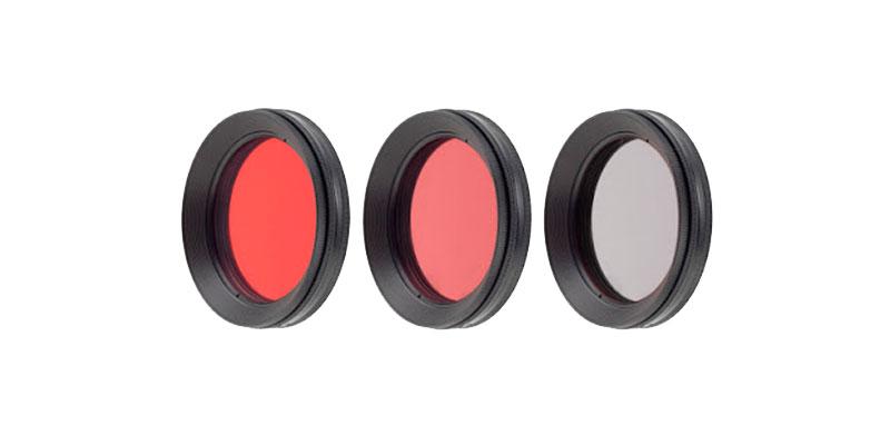 2 w 1- czerwony filtr do fotografii podwodnej