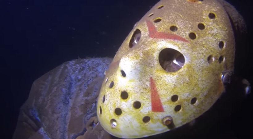 """Postać z horroru """"Piątek 13"""", Jason Voorhees, podwodną atrakcją dla nurków"""