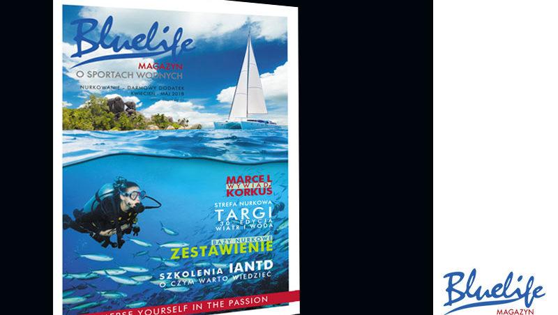 BlueLife Nurkowanie darmowy magazyn 4-5 2018