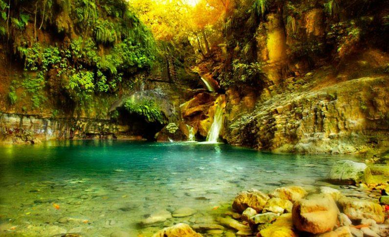 Odkryj 27 naturalnych zjeżdżalni pośrodku lasu tropikalnego
