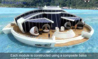 Pływający hotel przyszłością turystyki?