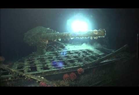 Wrak japońskiego okrętu podwodnego z okresu II Wojny Światowej