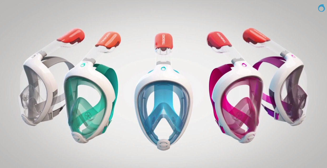 Nowy komfort snorkelingu – maska Tribord Easybreath