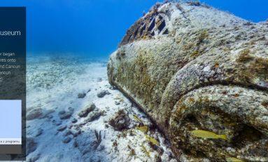 Nowe podwodne miejsca w Google Street View