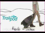 Trójkołowa torba ze statywem dla podróżujących