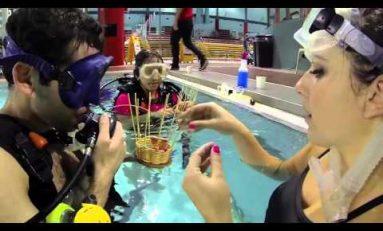 Wyplatanie podwodne. Nowatorski pomysł zachęcania do nurkowania?