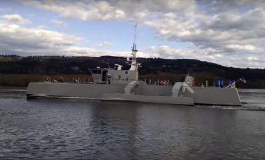 Pierwszy bezzałogowy Sea Hunter przeszedł pomyślnie próby morskie