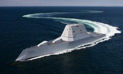 Najwiekszy i najbardziej zaawansowany technologicznie niszczyciej US Navy