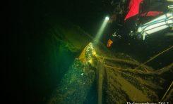 Elbing IX - zatonięcie parowca