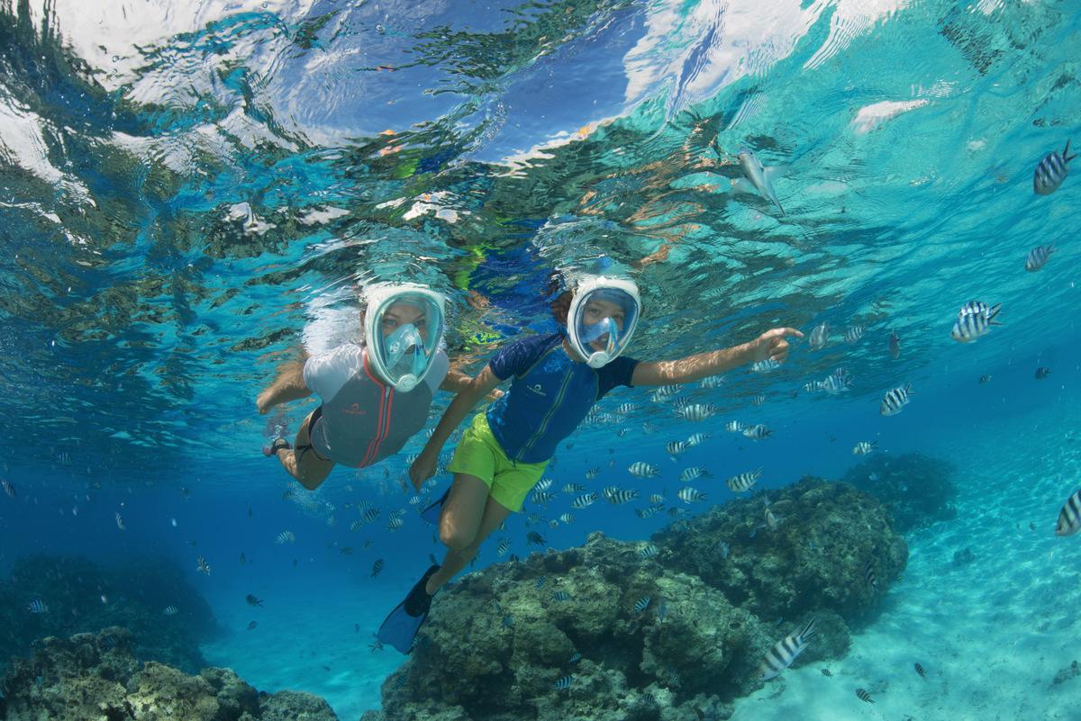 Maska Easybreath – patrz i oddychaj pod wodą tak, jak na lądzie