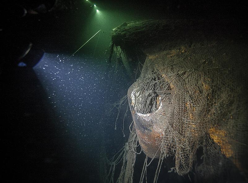 Pусалка – wrak carskiego okrętu