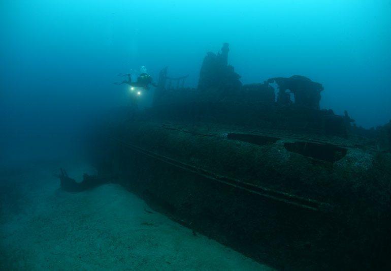 """Ekspedycja """"Scyllias"""". Podwodne dziedzictwo południowej Francji – Rubis, Togo i Espingole"""