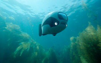 Biki - podwodny dron zdalnie sterowany