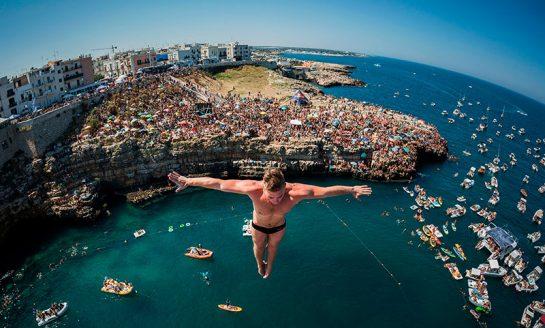Raj dla mistrzów w europejskiej stolicy Cliff Divingu