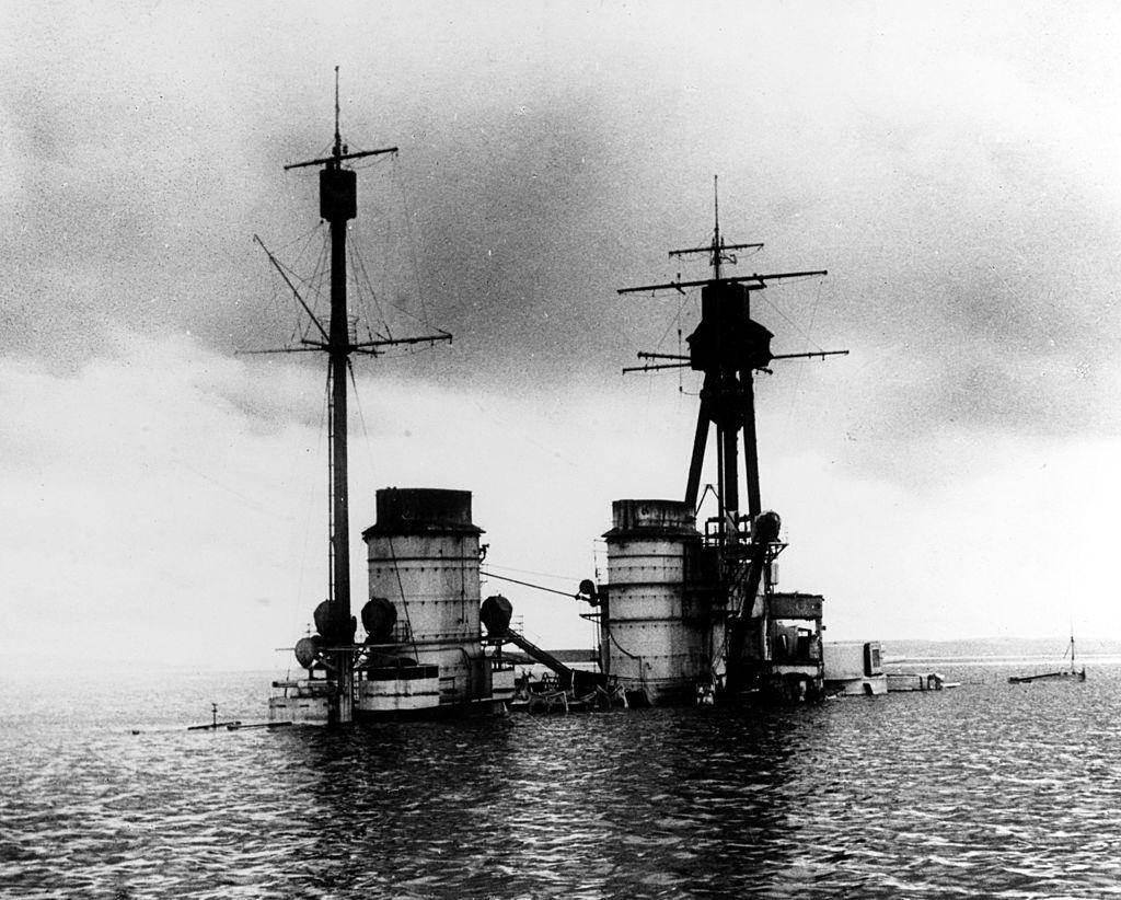 Rozpoczęto badania na wrakach Scapa Flow i grobach wojennych z I Wojny Światowej