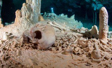 Szkielet z podwodnej jaskini na Jukatanie jednym z najstarszych w Ameryce