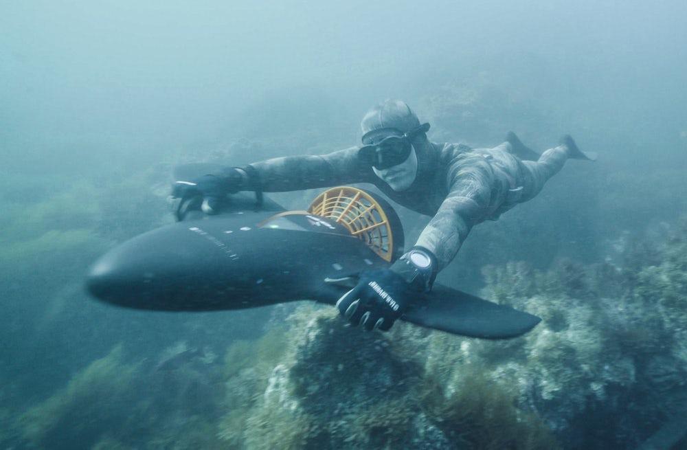 Podwodne szybowanie z Aqua Jet H2