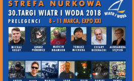 Strefa Nurkowa - program prelekcji - Targi Wiatr i Woda 2018