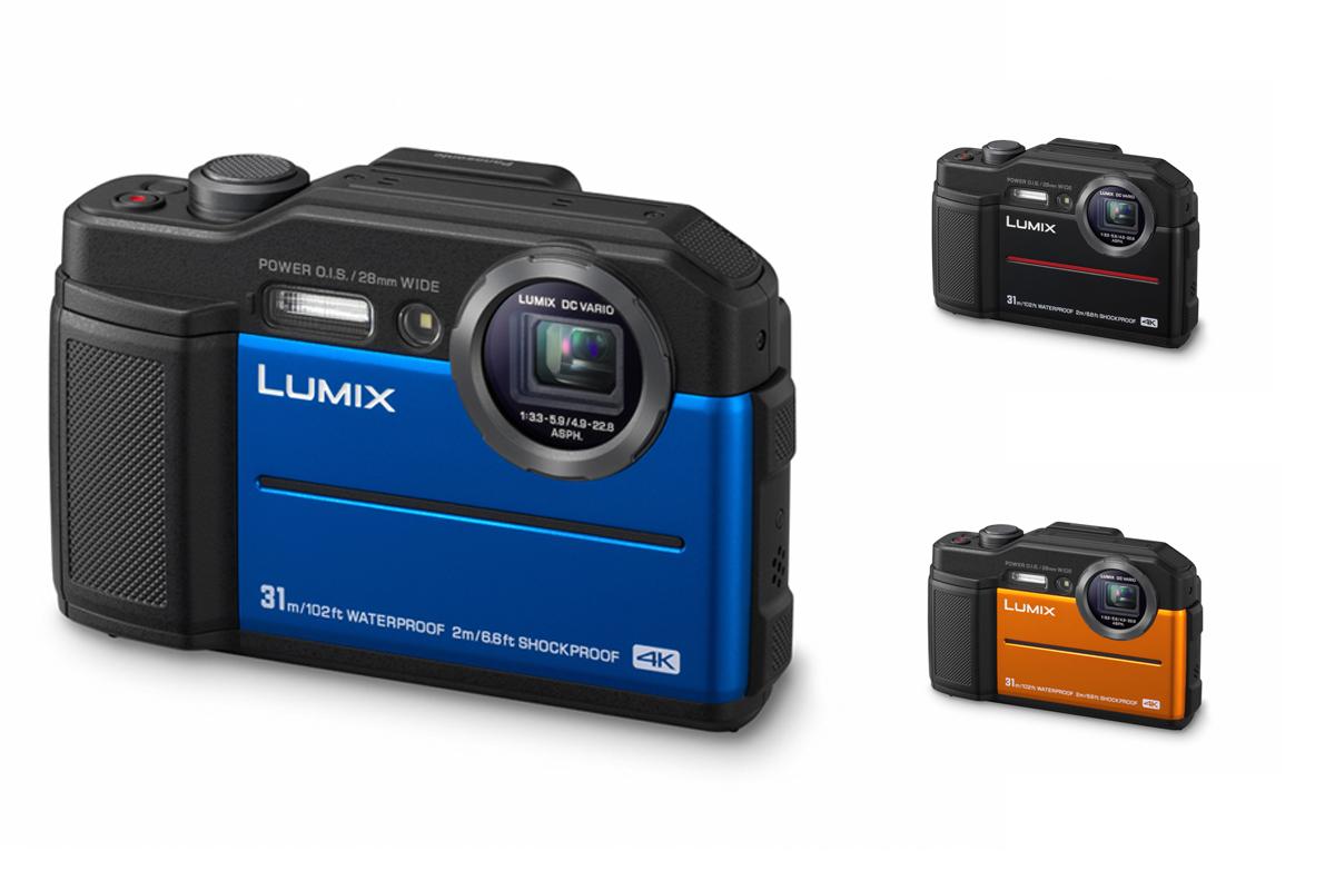 Kompaktowy Lumix TS7