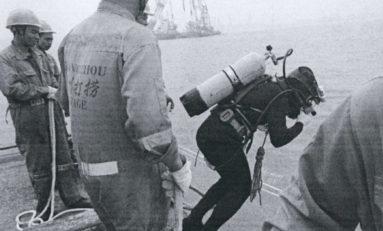 Główna nagroda IMO za wyjątkową odwagę na morzu trafi do nurka  Zhong Haifeng
