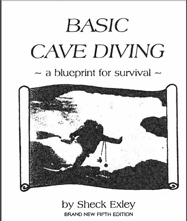"Książka ""Basic Cave Diving: A Blueprint for Survival"" Shecka Exleya do pobrania za darmo"
