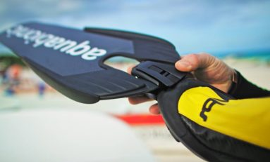 Aquabionic ABS nowy system mocowania płetw
