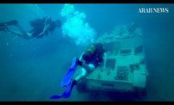 Libańscy ekolodzy zatapiają czołgi na dnie Morza Śródziemnego