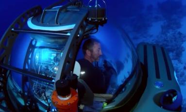 Darrell Miklos uważa, że znalazł statek kosmiczny na dnie Trójkąta Bermudzkiego
