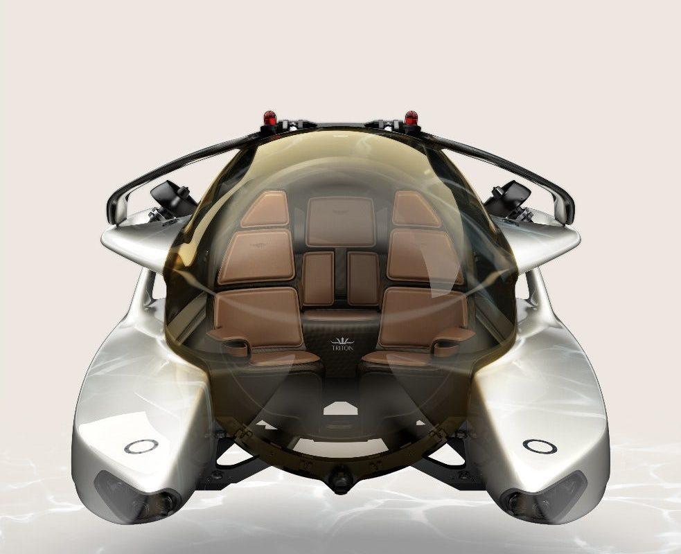 Podwodny pojazd zaprojektowany przez Astona Martina