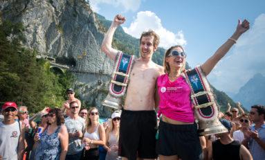 Zwycięskie skoki kończą szwajcarski etap Red Bull Cliff Diving World Series 2018