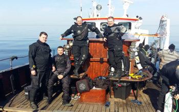"""Szczecińska Grupa Eksploracji Podwodnej """"Gryf"""" - powstaliśmy po to, by ratować odnajdywane zabytki"""