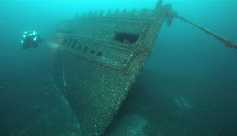 Przepiękny frachtowiec po 112 latach został znaleziony przez płetwonurków