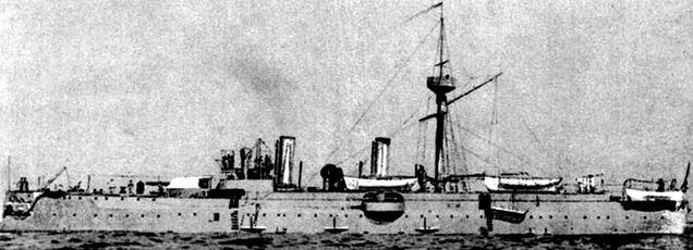Chiński opancerzony krążownik Jingyuan