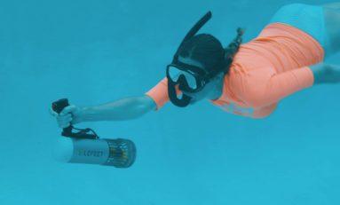 LeFeet S1 mini skuter do nurkowania