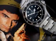 """Nurkowy zegarek Jamesa Bonda z """"Licencji na zabijanie """" wystawiony na sprzedaż"""