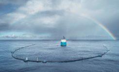 Gigantyczny Pac-Man sprzątający ocean z plastiku do małej poprawki