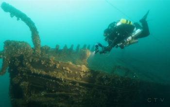 Łowcy wraków odkryli u wybrzeży wyspy Griffith przepięknie zachowany 130-letni wrak Manasoo