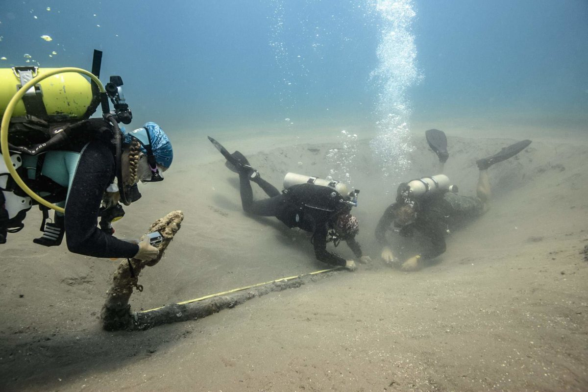 Pierwsze odkrycia w ramach poszukiwań wraków Cortesa
