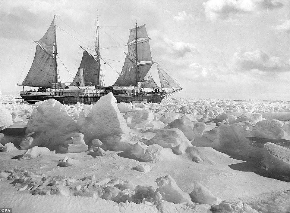 "Poszukiwania wraku ""Endurance"" Sir Ernesta Shackletona"