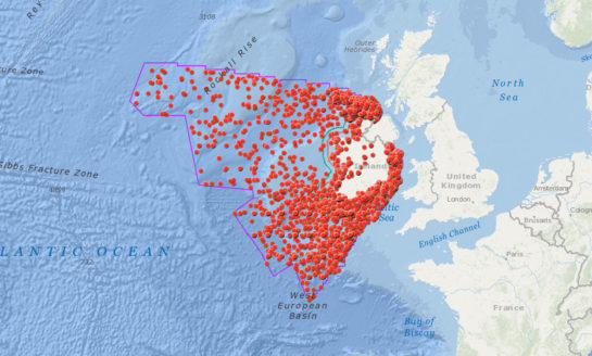 Mapa wraków zlokalizowanych na wodach irlandzkich wzbogacona została o nowe pozycje