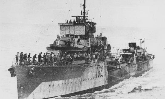 Zakończono poszukiwania wraku Niszczyciela HMAS Vampire I