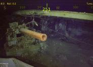 Wrak Lotniskowca USS Wasp - najnowsze odkrycie statku badawczego R/V Petrel