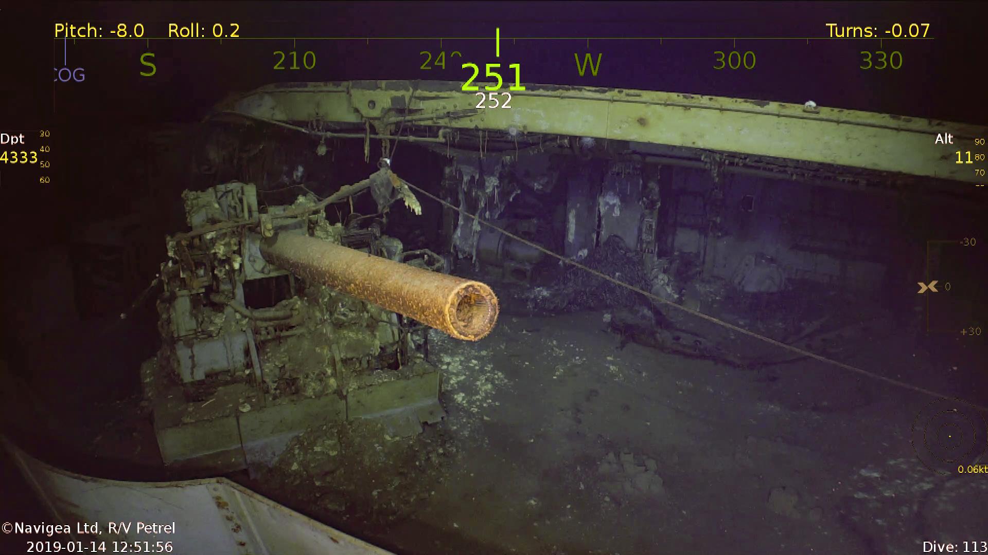 Wrak Lotniskowca USS Wasp – najnowsze odkrycie statku badawczego R/V Petrel